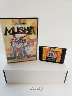 M. U. S. H. A. Musha (sega Genesis, 1990) Dans Box Rare Authentic