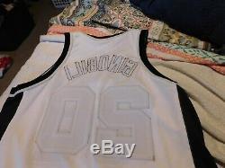 Manu Ginobili Authentique Reebok Spurs Nba Autographed Jersey Publié Jeu 2004 05