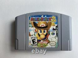Mario Party 1 + 2 + 3 (nintendo 64, N64) Paniers De Jeu Authentiques, Nettoyés Et Testés