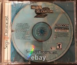 Marvel Vs Capcom 2 Sega Dreamcast Authentique Et Testé De Travail! Achevée