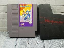 Mega Man 1 2 3 4 5 6 Nintendo Game Set Lot 1987 Withsleeves Nes