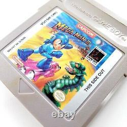 Mega Man I II III IV V 1 2 3 4 5 Lot Nintendo Game Boy Authentic Testé & Works