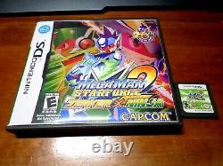 Mega Man Star Force Dragon + Pegasus + Ninja Nintendo Ds Authentique 3ds Rare