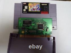 Mega Man X3 Snes Complète Boîte Manuelle De Carte D'enregistrement Authentique