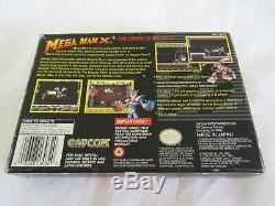 Mega Man X3 (snes) Super Nintendo Cib Complete Box 1997 Capcom Authentique Rare