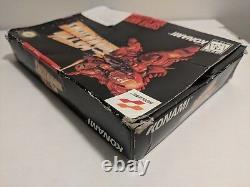 Metal Warriors Super Nintendo Snes Game Cart + Box Rare Authentic
