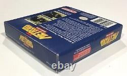 Metroid II Original Nintendo Gameboy Boîte Authentique Manuel Complet