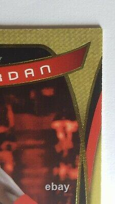 Michael Jordan 2004 Jeu Sp Utilisé Authentic Fabrics Gold / 100 Goat Nba Gift Idea