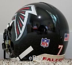 Michael Vick 2006 Portés D Occasion Autographié Authentique Falcons NFL Casque Mike