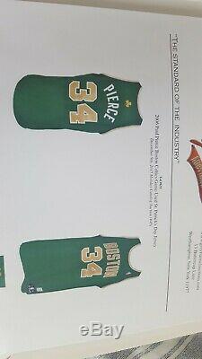 Nba Paul Pierce Authentique Portés Jour St Patricks Boston Celtics Jersey