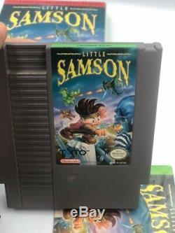 Nes Petit Samson Nintendo Nes Cib Authentique Mint Copie Très Très Rare
