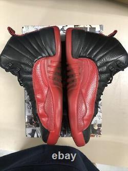 Nike Air Jordan 12 Flu Game Sz 10.5 100% Authentique Retro Jordan XII