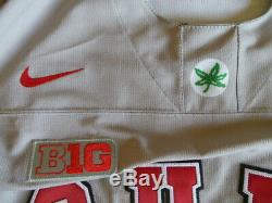 Nike Authentique D Occasion Worn Gamer Jersey Ohio State Buckeyes Kevin Millar Osu