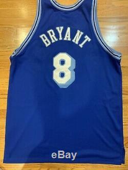 Nike Authentique Kobe Bryant La Lakers Throwback Hardwood Classics Jeu Jersey 52
