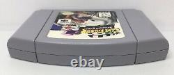 Nintendo 64 N64 Clay Fighter Sculpteurs Coupés Authentiques/nettoyés/testés