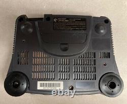 Nintendo 64 N64 Console Bundle Avec Contrôleur + 3 Jeux Authentic & Tested