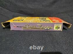 Nintendo 64 N64 Stunt Racer Cartridge Box Manuel Authentic Blockbuster Exclusive
