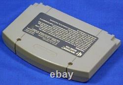 Nintendo 64 Papier Mario N64 Avec Boîte Et Manuel Authentifié Testé
