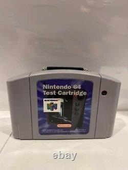 Nintendo 64 Test Cartridge Cart Rev A N64 Testé Fonctionne Ultra Rare Authentique