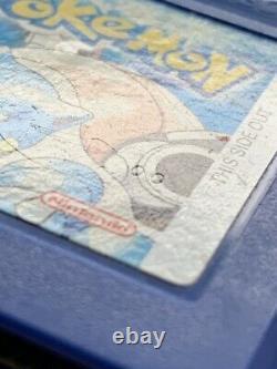 Nintendo Gbc Game Boy Color Color Pikachu Edition Console & 6 Jeux Pokémon Authentiques