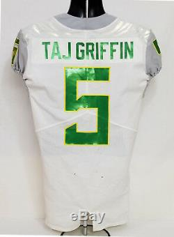 Oregon Ducks 2016 Alamo Bowl Nike Chandails Portés Football Jersey Griffin Men's 38
