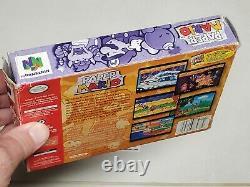 Papier Mario Authentic Complete Nintendo 64 N64 Jeu Cib