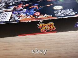 Pistolets Sauvages (super Nintendo Snes) Authentiques Et Complets Dans La Boîte Cib