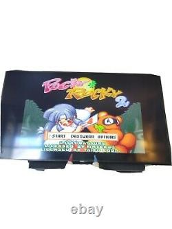 Pocky & Rocky 2 Super Nintendo Snes Testé Et Fonctionne 100% Authentique
