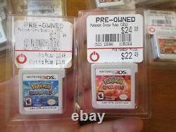 Pokemon Alpha Sapphire & Omega Ruby Nintendo 3ds Lot Authentic Seule Cartouche