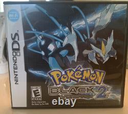 Pokemon Black Version 2 (nintendo Ds, 2012) Complete En Boîte 100% Authentique