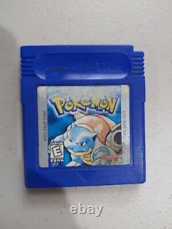 Pokemon Blue Cib (nintendo Game Boy) Authentique Complet Dans La Boîte! Nouvelle Batterie