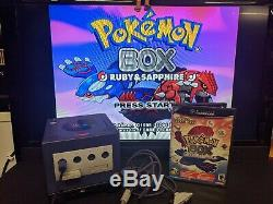 Pokemon Box Ruby Sapphire Nintendo Gamecube Testée Authentique Us Pokémon