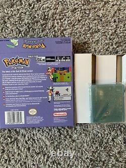 Pokemon Crystal Version Authentique (description Des Résultats)