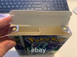Pokemon Crystal Version (game Boy Color) Nintendo Inserts Complets De Cib Authentiques