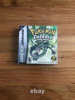 Pokemon Emerald Version (game Boy Advance, 2005) Complete Authentic No Game