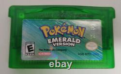 Pokemon Emerald Version (game Boy Advance, 2005) Complete Withbox (authentic)