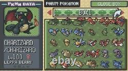 Pokemon Emeraude Authentique Tous Les 386 Shiny Jeu Déverrouillé & Nouvelle Batterie