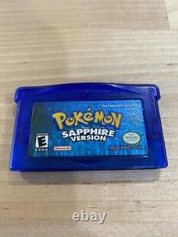 Pokemon Gameboy Advance Jeux 100% De Travail Et De Lot Authentique