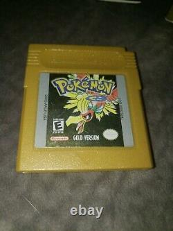 Pokemon Gold Version In Box Authentic Nintendo Gameboy Couleur Box Manual Look