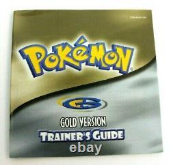 Pokemon Gold Version (game Boy Color, 2000) Complete & Authentic Cib