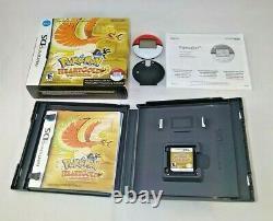 Pokemon Heartgold Complete Cib Authentic Outer Box Pokewalker