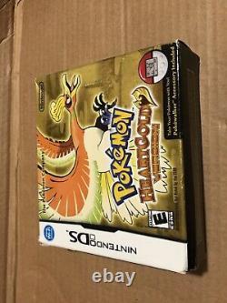 Pokemon Heartgold Version Ds (authentique) (avec Manuels) (testé) (expédition Rapide)