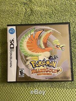 Pokemon Heartgold (ds, 2010) Authentique Avec Pokéwalker