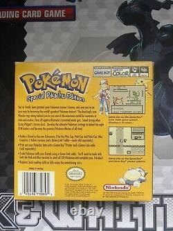 Pokemon Jaune Version Spécial Pikachu Edition Boîte Et Jeu Authentique