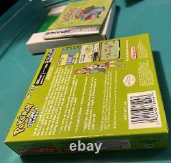 Pokemon Leaf Green Version Gba Jeu Boy Advance Complete In Box Cib Authentic