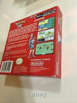 Pokemon Leafgreen & Firered Version Game Boy Advance Gba Authentic Complete Cib