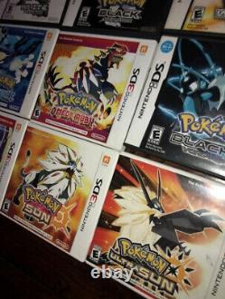 Pokemon Nitendo Ds Lot Authentique! Pokemon Soul Argent, Or Coeur Et Bien Plus Encore