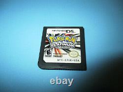 Pokemon Platinum Authentic (nintendo Ds) Lite Dsi XL 3ds 2ds Jeu