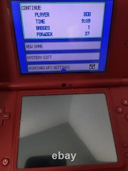 Pokemon Platinum Nintendo (ds, 2009) % Authentique! Manuel! Voir Les Pics De Gameplay