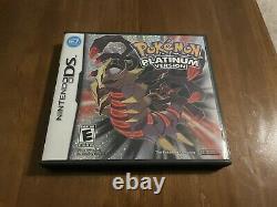 Pokemon Platinum Version (ds, 2009) Compléter Dans La Boîte Cib Authentic Tested